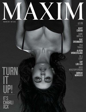 Maxim USA May 2015